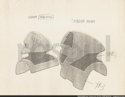 Kenner M.A.S.K. Color Guides 079 Magna Beam Mask
