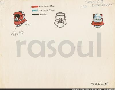 Kenner M.A.S.K. Color Guides 025 Spectrum Mask