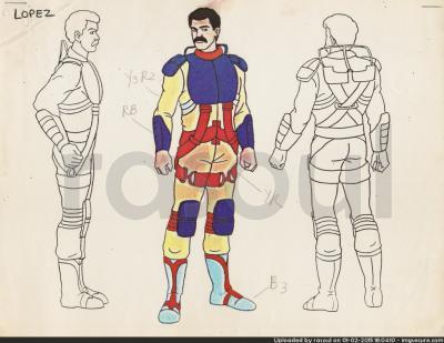 Kenner M.A.S.K. Color Guides 042 Julio Lopez