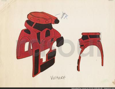 Kenner M.A.S.K. Color Guides 084 Buckshot Mask