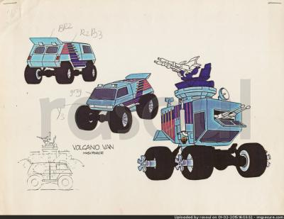 Kenner M.A.S.K. Color Guides 060 Volcano