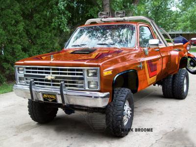 Mark Broome Real Life MASK Vehicles
