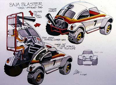 MASK Baja Blaster