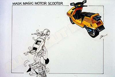 MASK Magic Motor Scooter