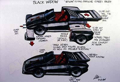 VENOM Black Widow