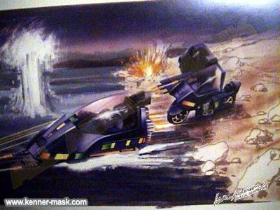 Art for the M.A.S.K. PIRANHA package