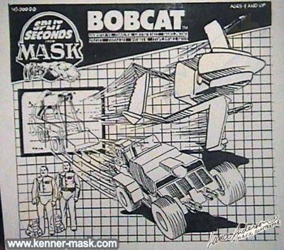 Concept pencil art of  M.A.S.K BOBCAT later VANDAL