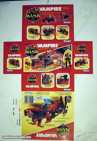 VAMPIRE box proof sheet
