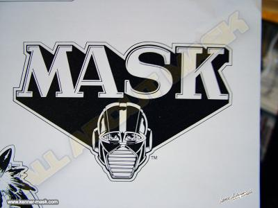 Concept pencil art of an early M.A.S.K logo