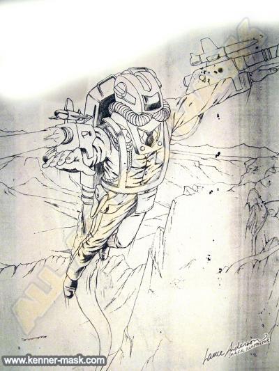 Concept pencil art M.A.S.K VENOMS REVENGE