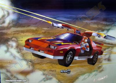 Art for the M.A.S.K. THUNDERHAWK package