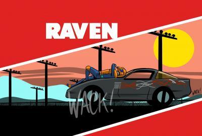 Kero Wack Horizon Series Raven