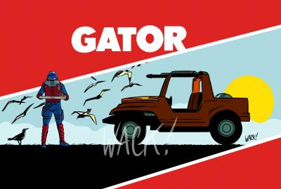 Kero Wack Horizon Series Gator