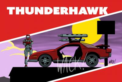 Kero Wack Horizon Series Tunderhwawk