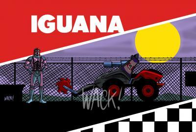 Kero Wack Horizon Series Iguana