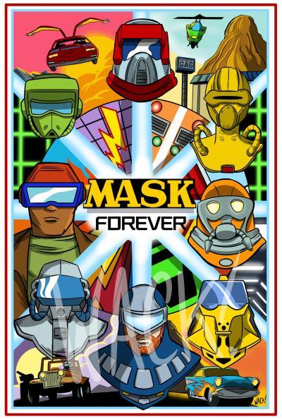 Kero Wack Forcer Series Team MASK original