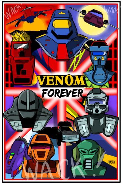 Kero Wack Forcer Series Team VENOM original