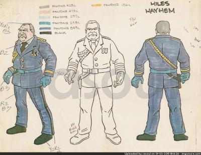 Kenner M.A.S.K. Color Guides 028 Miles Mayhem Switchblade