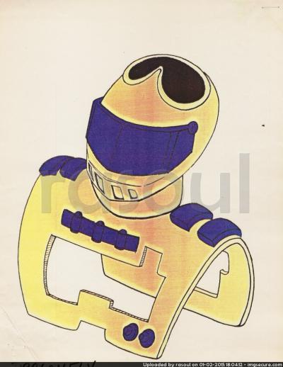 Kenner M.A.S.K. Color Guides 044 Streamer Mask