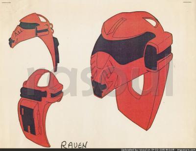 Kenner M.A.S.K. Color Guides 051 Gulliver Mask