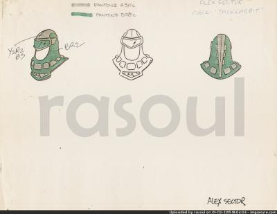 Kenner M.A.S.K. Color Guides 037 Jackrabbit Mask