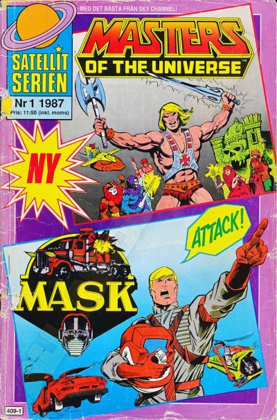 M.A.S.K. MASK Swedish Satellit Comic 1987 No. 1