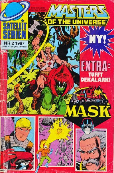 M.A.S.K. MASK Swedish Satellit Comic 1987 No. 2