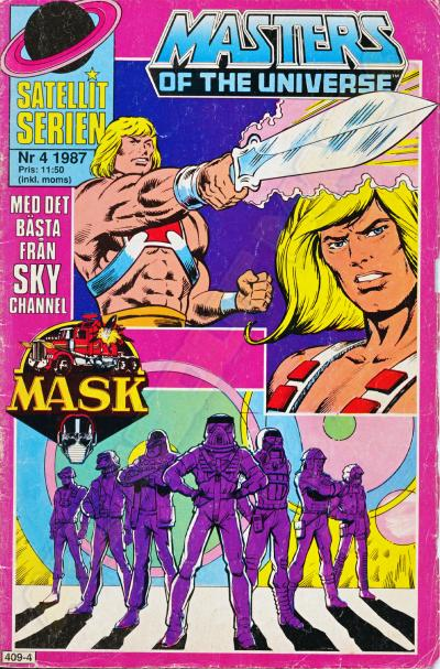 MASK Swedish Satellit Comic 1987 No. 4