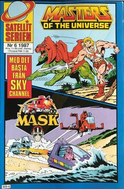 M.A.S.K. MASK Swedish Satellit Comic 1987 No. 6