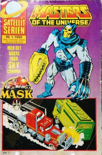 M.A.S.K. MASK Swedish Satellit Comic 1988 No. 1