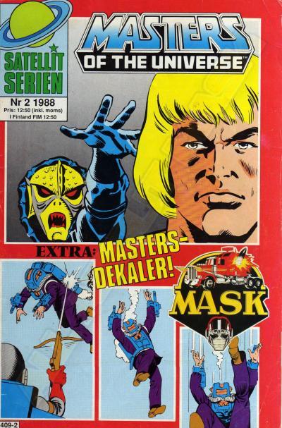 M.A.S.K. MASK Swedish Satellit Comic 1988 No. 2