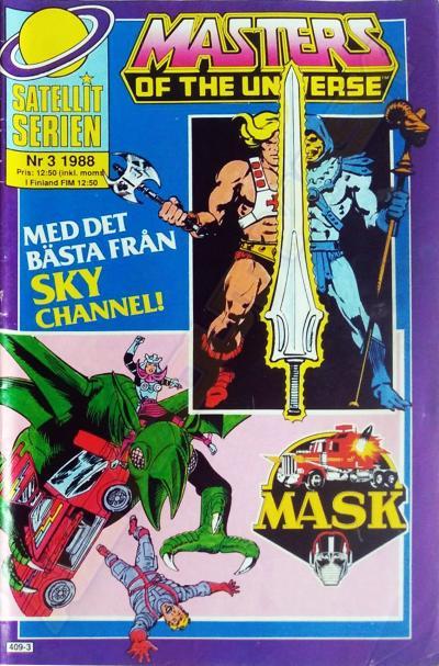 M.A.S.K. MASK Swedish Satellit Comic 1988 No. 3