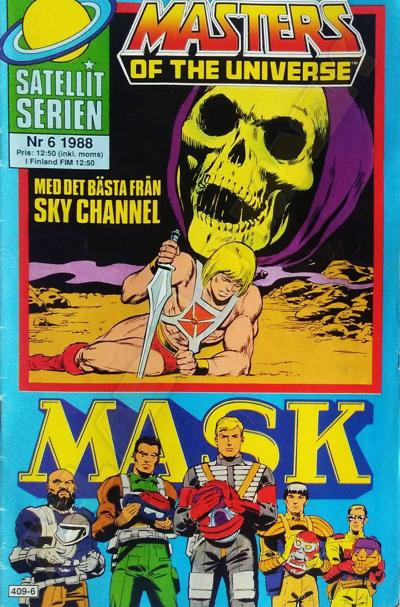 M.A.S.K. MASK Swedish Satellit Comic 1988 No. 6