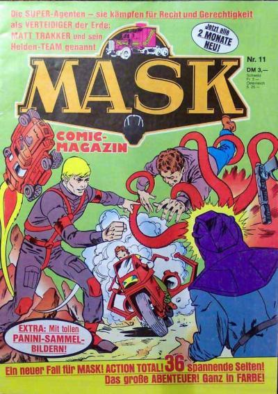 M.A.S.K. M.A.S.K. German comic no. 11
