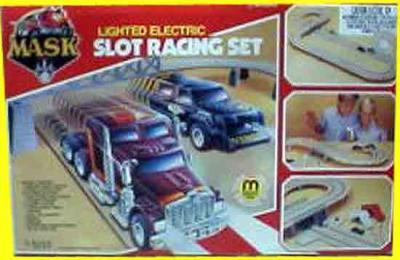 M.A.S.K. M.A.S.K. Slotracing set red box Rhino & Jackhammer
