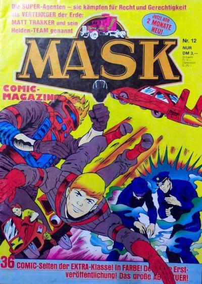M.A.S.K. M.A.S.K. German comic no. 12