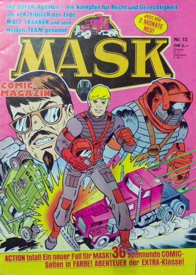 M.A.S.K. M.A.S.K. German comic no. 13
