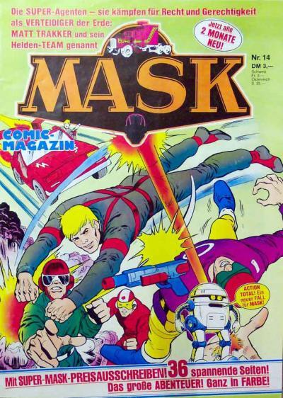 M.A.S.K. M.A.S.K. German comic no. 14