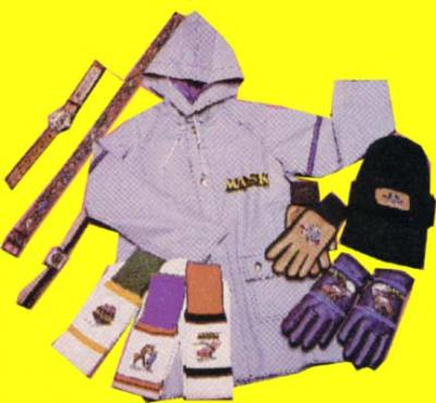 M.A.S.K. M.A.S.K. Rain jacket, hat, gloves, sockss