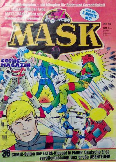 M.A.S.K. M.A.S.K. German comic no. 15
