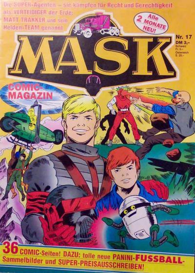 M.A.S.K. M.A.S.K. German comic no. 17