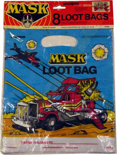 M.A.S.K. M.A.S.K. 8 Loot bags