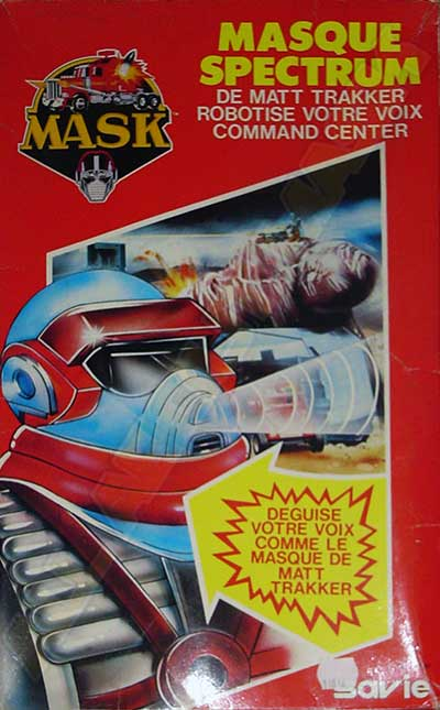 M.A.S.K. M.A.S.K. Matt Trakker Spectrum mask with action voice changer