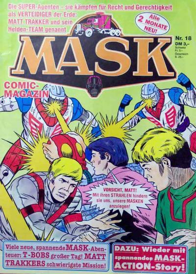 M.A.S.K. M.A.S.K. German comic no. 18