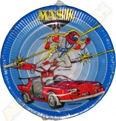 M.A.S.K. M.A.S.K. Paper plate