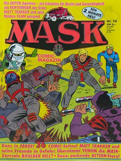 M.A.S.K. M.A.S.K. German comic no. 19