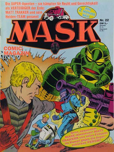 M.A.S.K. M.A.S.K. German comic no. 22