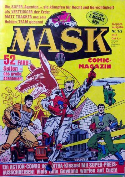 M.A.S.K. M.A.S.K. German comic no. 01/02