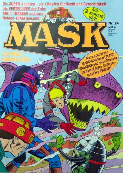 M.A.S.K. M.A.S.K. German comic no. 24