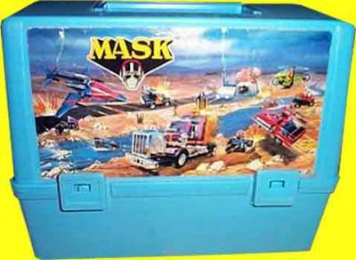 M.A.S.K. M.A.S.K. Lunchbox blue